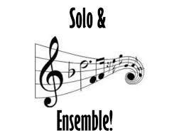 Solo & Ensemble Results
