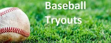 Baseball Tryout Reminder