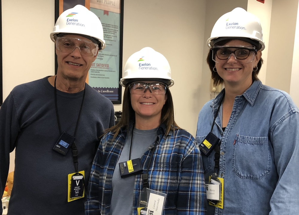 Science Teachers Visit Nuclear Power Plant