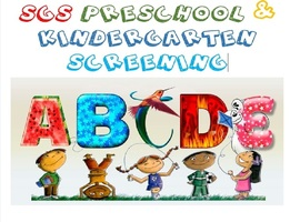 Pre-School & Kindergarten Screening
