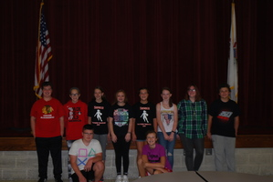7th & 8th Grade Students Participate in Audition