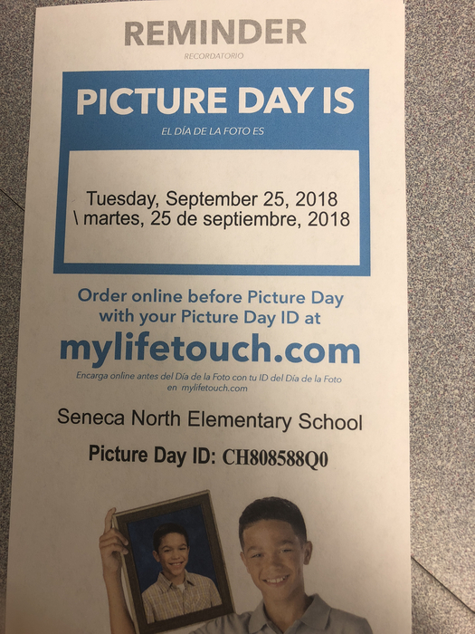 Picture day Sept 25th