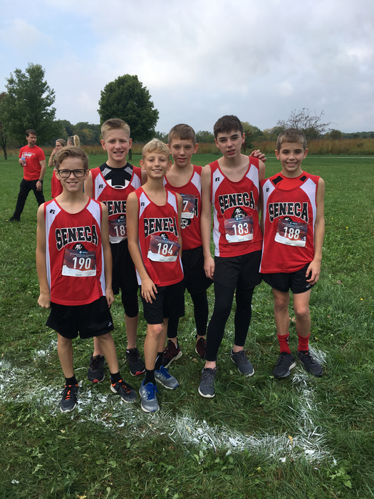 Boys before Sectional race.