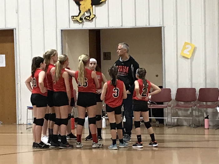 This is a photo of 6th grade volleyball.