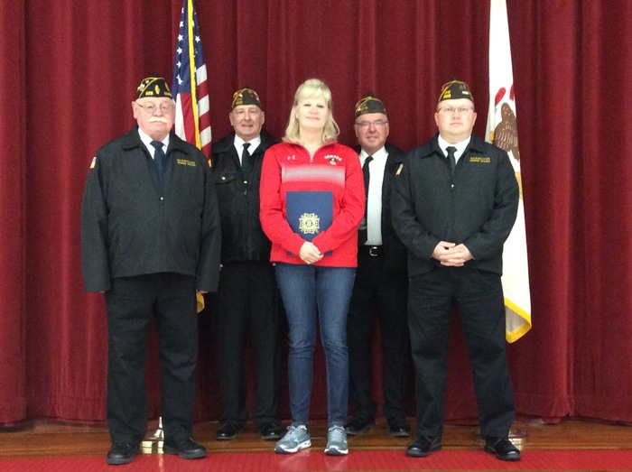 VFW Educator of the Year