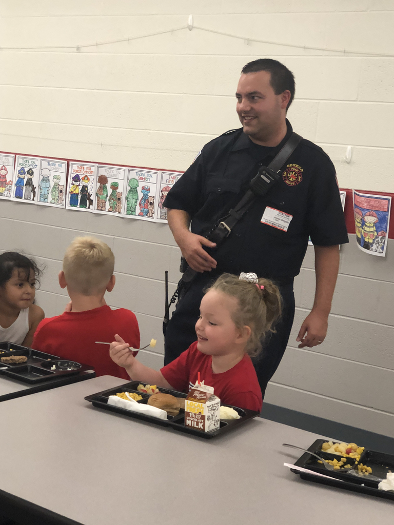 Mr. Delago meets with Kindergarten