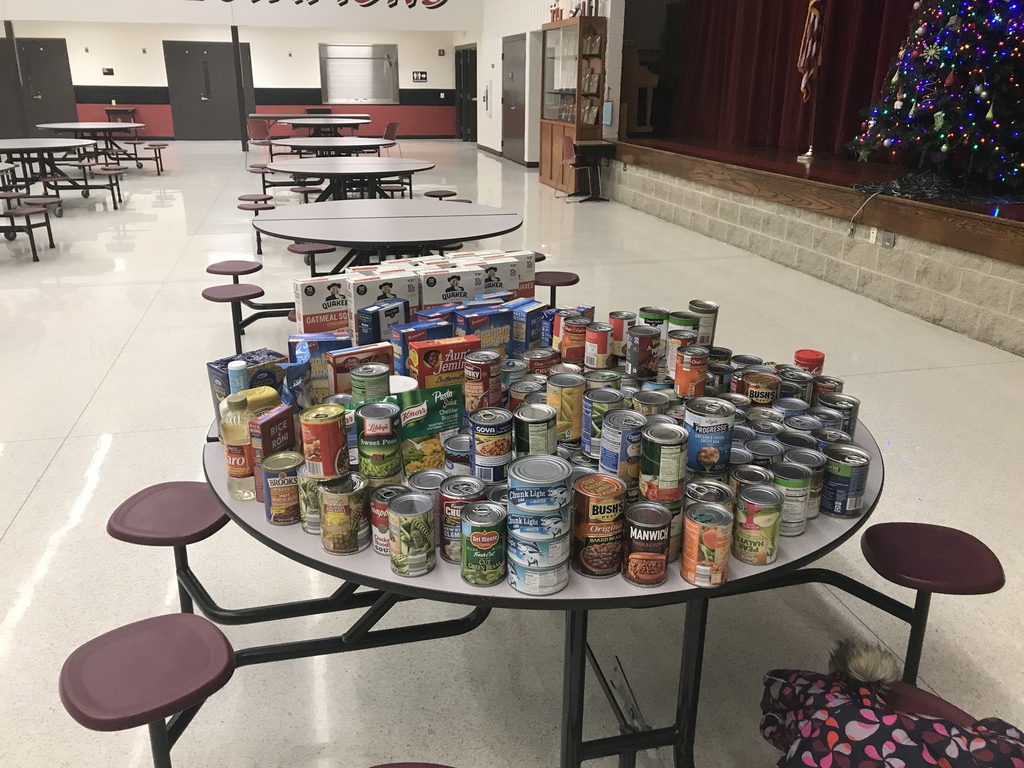 Pack the house food drive.