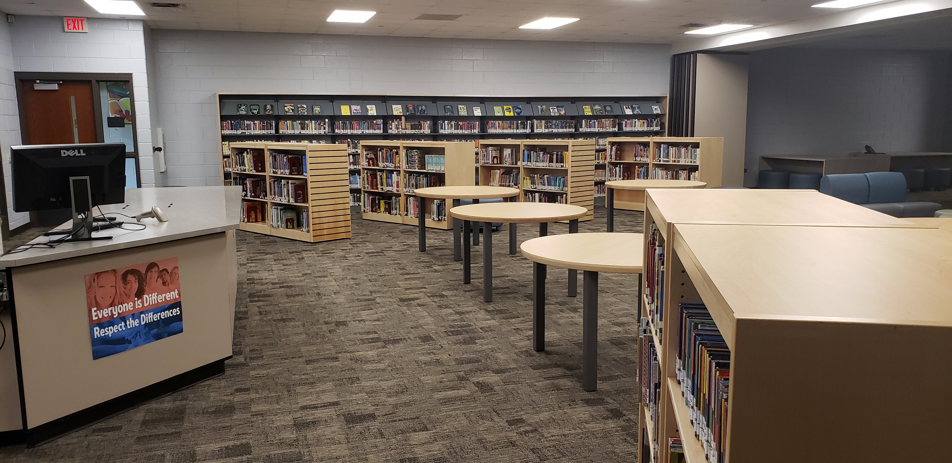 Renovated South Campus Library